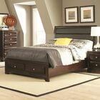 Wasserhund Upholstered Storage Panel Bed Size: King
