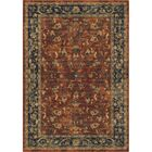 Lilah Floral Trail Red/Beige Area Rug Rug Size: 5'3