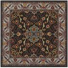 Meriden Hand-Tufted Charcoal/Ivory Area Rug Rug Size: Rectangle 5' x 8'