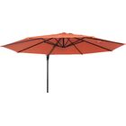 12' Cantilever Umbrella Fabric: Terracotta