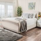 Greenock Fabric Upholstered Sleigh Bed Size: King