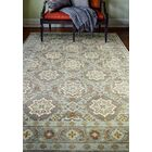 Crawley Hand-Knotted Taupe Area Rug Rug Size: 8'9