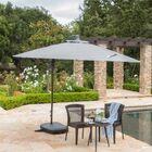 Desirat 9.5' Square Cantilever Umbrella Color: Gray