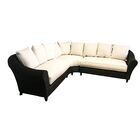 Vickey Outdoor Patio Sectional with Cushions Color: Vapor