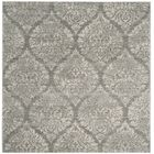 Augustus Gray/Silver Area Rug Rug Size: Square 6'7