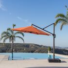 Griggsville 10' Cantilever Umbrella Fabric: Tikka Orange