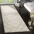 Bevis Hand Tufted Wool Gray Area Rug Rug Size: Runner 2'3