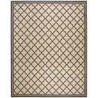 Burnell Contemporary Beige Area Rug Rug Size: Rectangle 9' x 12'