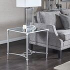 Turner End Table Color: Silver