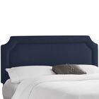 Klein Upholstered Panel Headboard Upholstery: Klein Midnight, Size: California King