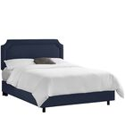 Klein Upholstered Panel Bed Color: Klein Ricepaper, Size: Twin