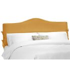 Crimmins Upholstered Panel Headboard Upholstery: Shantung Aztec, Size: King