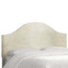 Regal Upholstered Panel Headboard Size: Twin, Color: Dusty Rose