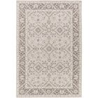Pottershill Hand-Tufted Beige/Charcoal Area Rug Rug Size: Rectangle 5' x 7'6