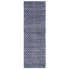 Boston Hand-Woven Navy Area Rug Rug Size: Runner 2'3