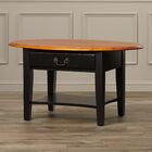 Revere Coffee Table Color: Brown Cherry / Black