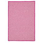 Greenbrier Valley Hand-Woven Pink Indoor/Outdoor Area Rug Rug Size: Rectangle 2' x 3'