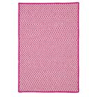 Greenbrier Valley Hand-Woven Pink Indoor/Outdoor Area Rug Rug Size: Rectangle 3' x 5'