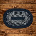 Lionel Blue Area Rug Rug Size: Oval 7' x 9'