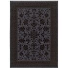 Douglassville Oriental Blue/Gray Area Rug Rug Size: Rectangle 3'10