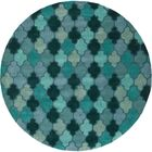 Billmont Fores Green Geometric Area Rug Rug Size: Runner 2'6