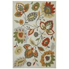 Hodgins Gray/Green Area Rug Rug Size: Rectangle 8' x 10'