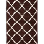 Ozzie Lattice Brown Area Rug Rug Size: Rectangle 7'10
