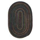 Lippold Charcoal Area Rug Rug Size: Oval 2' x 6'