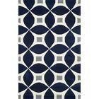 Jamar Handmade Navy Blue/Gray Area Rug Rug Size: Rectangle 5' x 8'