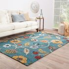 Silver Creek Hand-Woven Blue/Red Area Rug Rug Size: Rectangle 2' x 3'