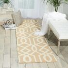 Hulings Hand-Knotted Sand/Ivory Area Rug Rug Size: Runner 2'3