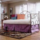Baptist Curved Metal Frame Daybed Finish: Flint