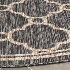 Rockbridge Natural/Black Indoor/Outdoor Area Rug Rug Size: Rectangle 9' x 12'