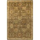 Moffet Brown/Tan Area Rug Rug Size: Rectangle 5'6