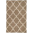 Felix Hand-Tufted Wool Beige/Brown Area Rug Rug Size: Rectangle 9'6