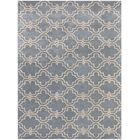 Lamontagne Trellis Wool Hand-Tufted Blue Area Rug Rug Size: Rectangle 8' x 10'