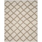 Knoxville Shag Beige/Ivory Area Rug Rug Size: Rectangle 8' x 10'