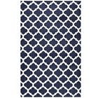 Tusten Moroccan Trellis Navy/Ivory Area Rug Rug Size: Rectangle 8' x 10'