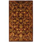 Wine & Gold Area Rug Rug Size: Rectangle 12' x 15'