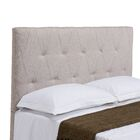 Robinson Upholstered Panel Headboard Size: Full / Queen, Upholstery: Cotton Flax
