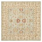 Otwell Gray/Blue/Beige Area Rug Rug Size: Square 10'