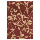 Gaskins Red Area Rug Rug Size: Rectangle 10' x 13'