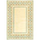 Taj Mahal Hand-Woven Cream Area Rug Rug Size: Rectangle 8' x 11'2