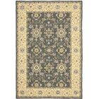 Driffield Hand-Hooked Grey / Cream Area Rug Rug Size: Rectangle 8' x 10'