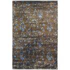 Alvan Hand-Tufted Brown / Light Blue Area Rug Rug Size: Rectangle 9'6