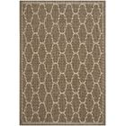 Altona Brown/Beige Indoor/Outdoor Area Rug Rug Size: Rectangle 9' x 12'6