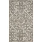 Portleven Gray Area Rug Rug Size: Rectangle 5' x 7'