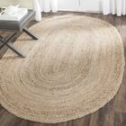 Chatham Hand-Woven Wool Light Tan Area Rug Rug Size: Rectangle 6' x 9'