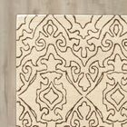Lamoille Kindle Hand-Tufted Beige Area Rug Rug Size: Rectangle 8' x 11'