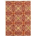 Pen Hand-Tufted Brown/Beige Area Rug Rug Size: Rectangle 5' x 7'